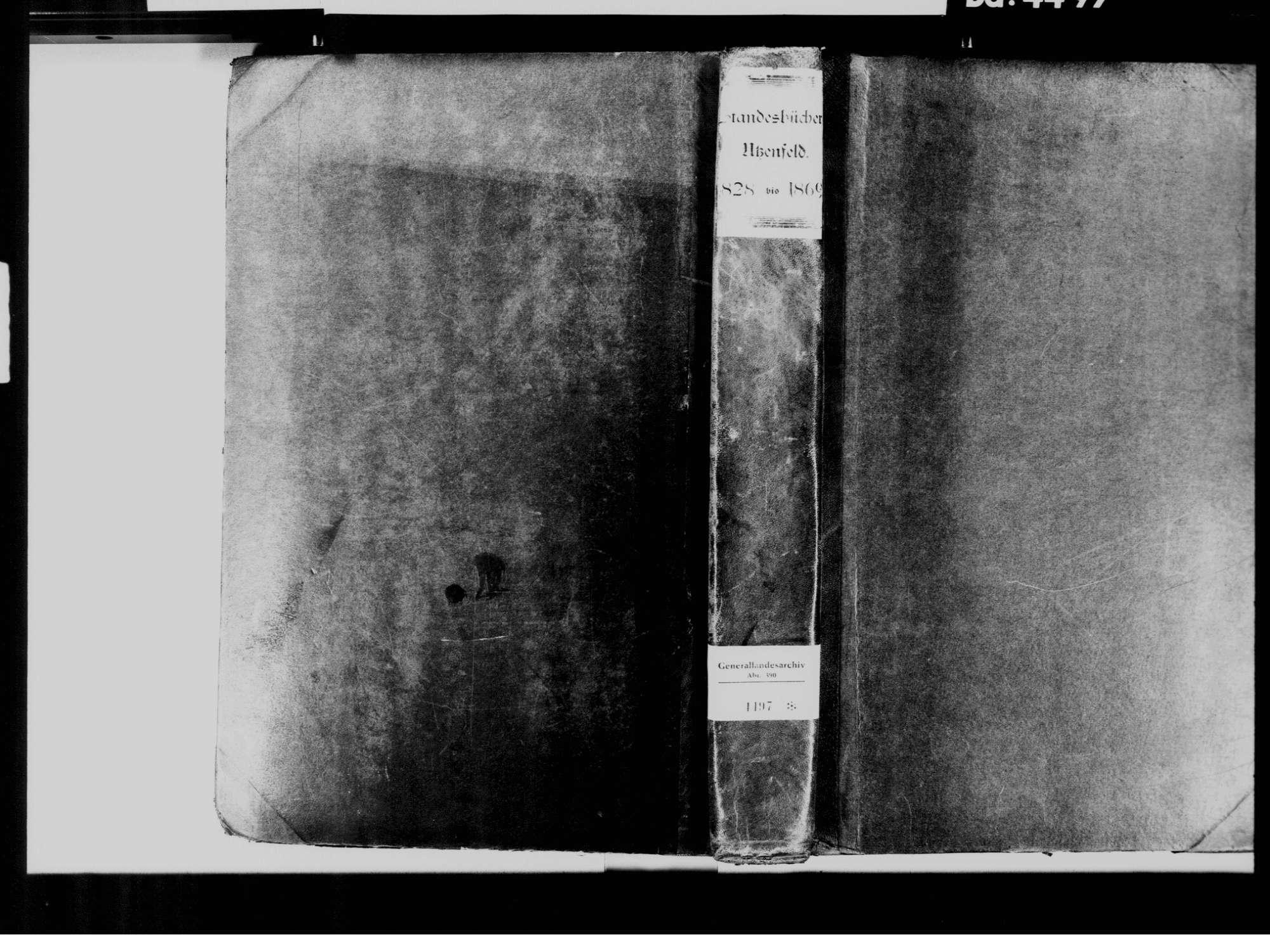 Utzenfeld LÖ, Katholische Gemeinde: Standesbuch 1828-1869, Bild 2