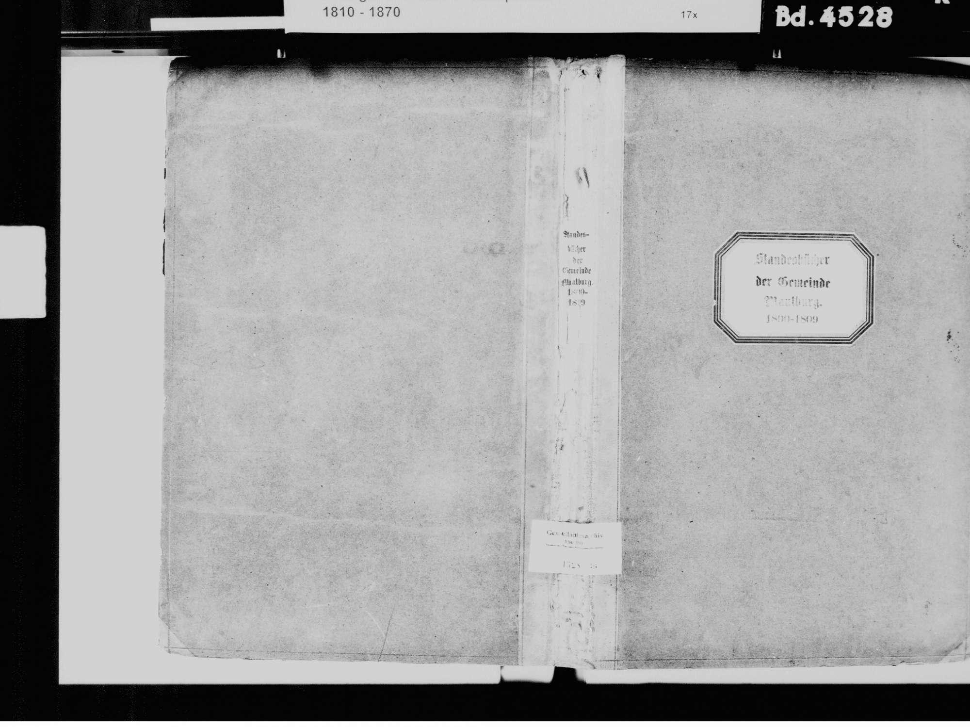 Maulburg LÖ; Evangelische Gemeinde: Standesbuch 1800-1809, Bild 2