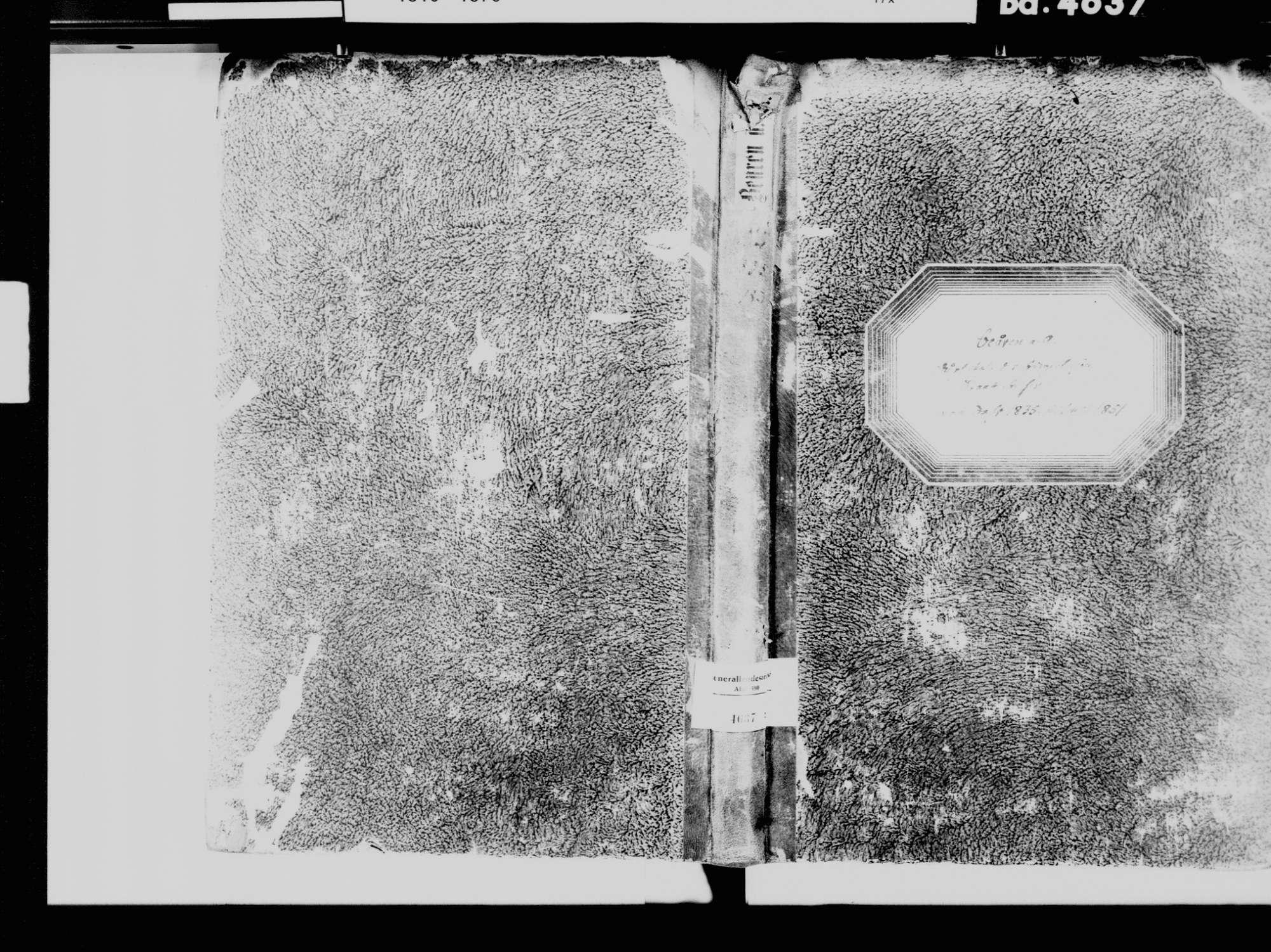 Beuren an der Aach, Singen (Hohentwiel) KN; Katholische Gemeinde: Standesbuch 1835-1851, Bild 2