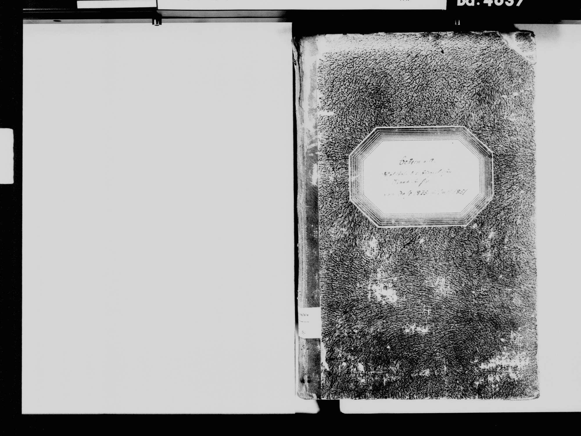 Beuren an der Aach, Singen (Hohentwiel) KN; Katholische Gemeinde: Standesbuch 1835-1851, Bild 3