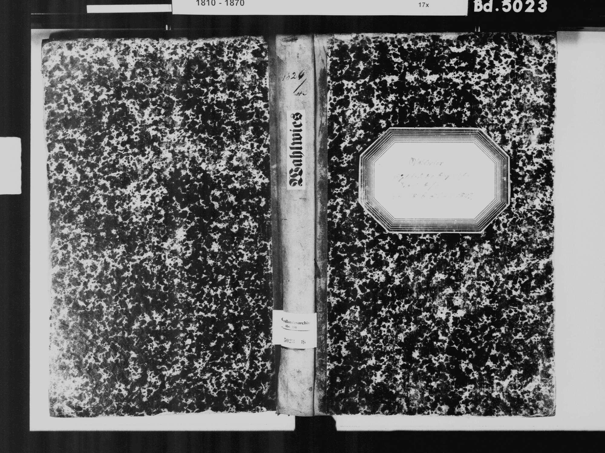 Wahlwies, Stockach KN; Katholische Gemeinde: Standesbuch 1826-1843, Bild 2