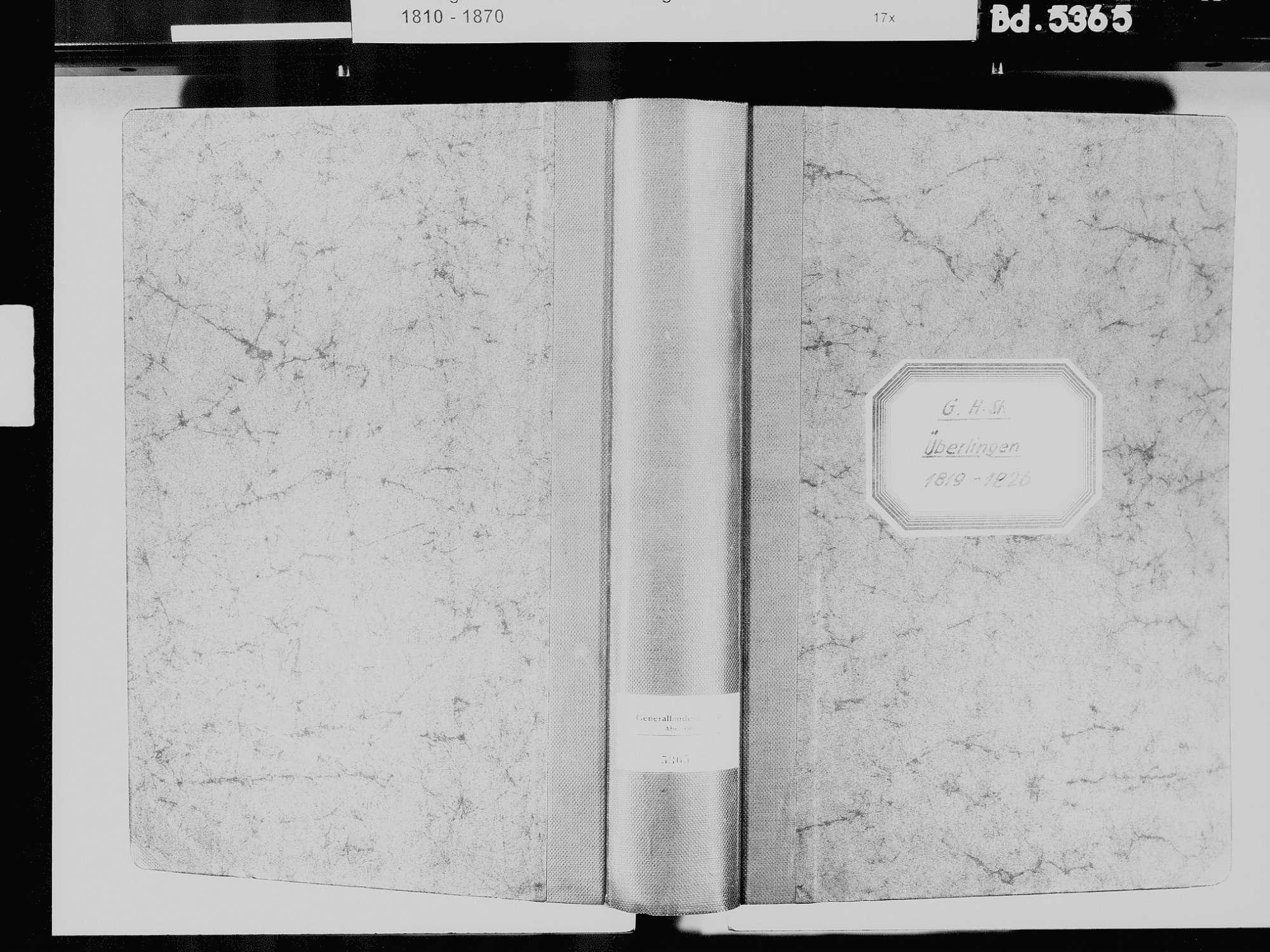 Überlingen FN; Katholische Gemeinde: Standesbuch 1819-1826, Bild 2