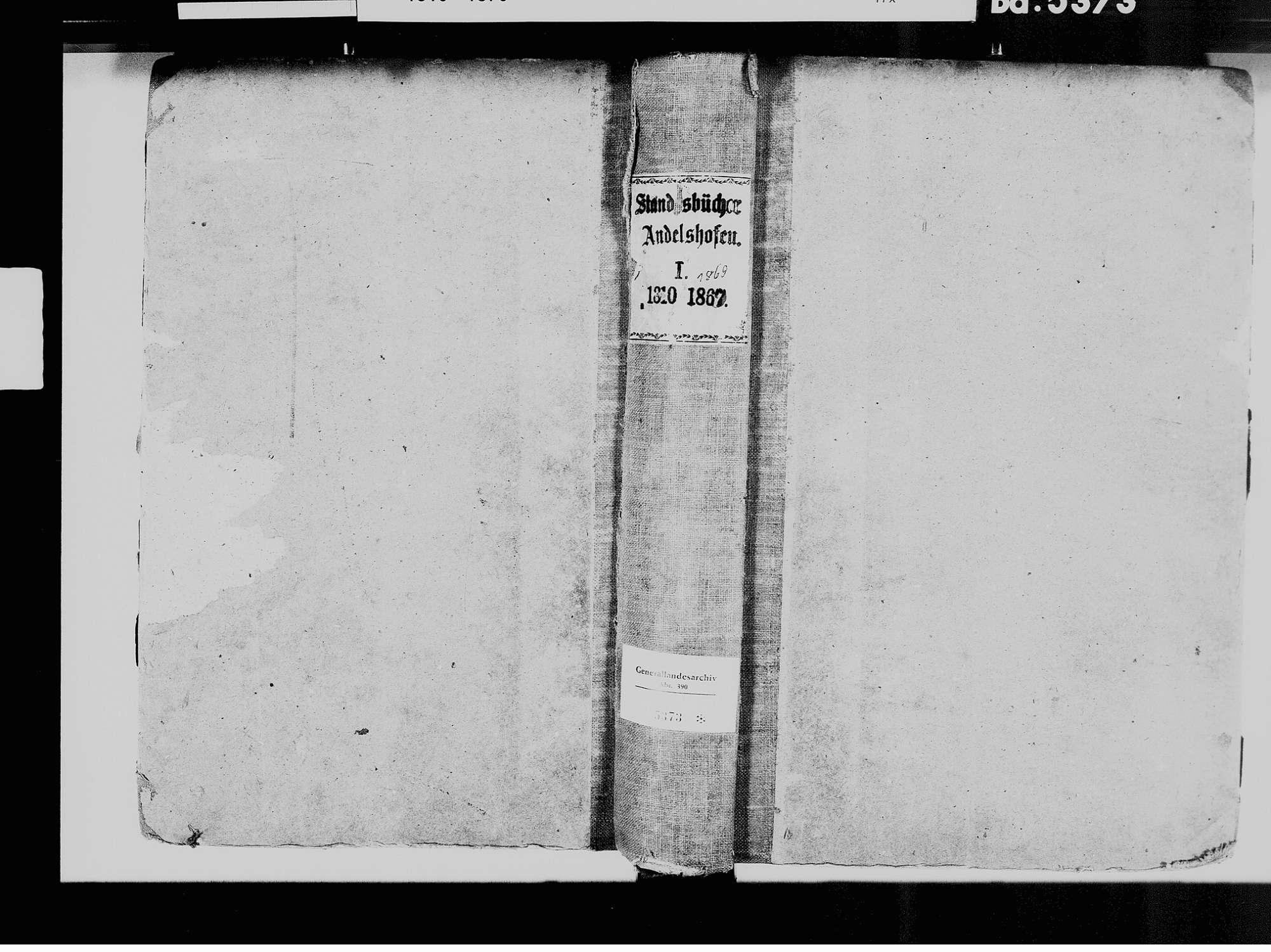 Andelshofen, Überlingen FN; Katholische Gemeinde: Standesbuch 1810-1869, Bild 2