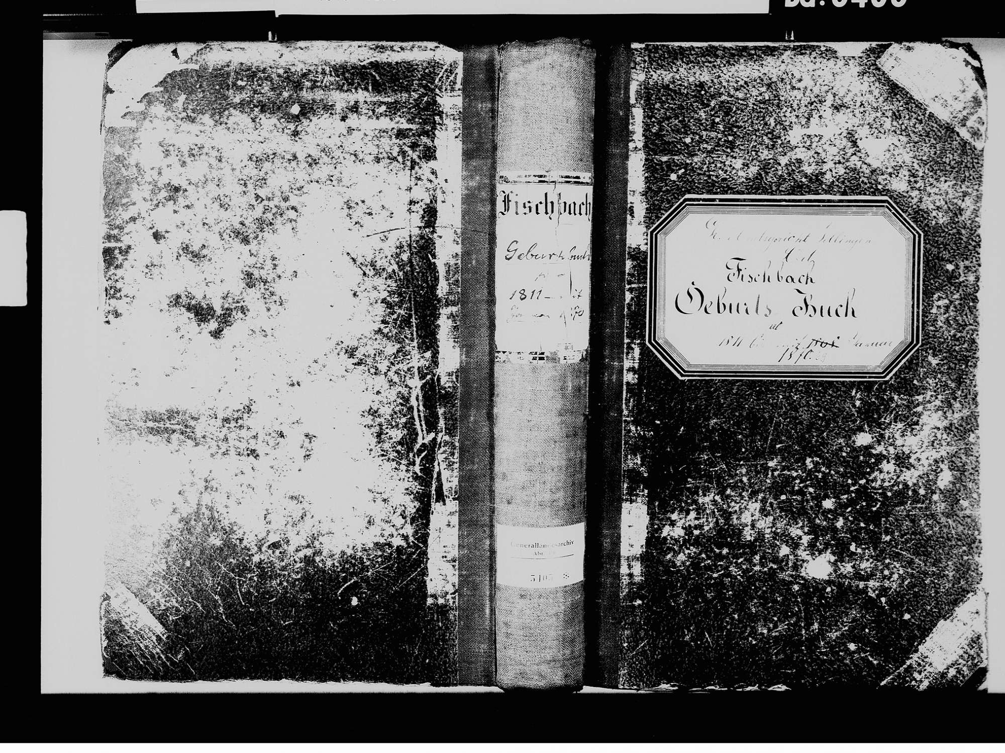 Fischbach, Niedereschach VS; Katholische Gemeinde: Geburtenbuch 1811-1870 Fischbach, Niedereschach VS; Katholische Gemeinde: Heiratsbuch 1813, Bild 2