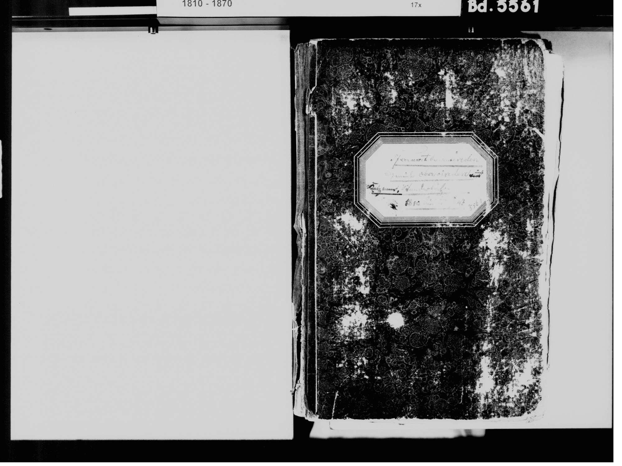 Oberwinden, Winden im Elztal EM; Katholische Gemeinde: Standesbuch 1810-1843, Bild 3
