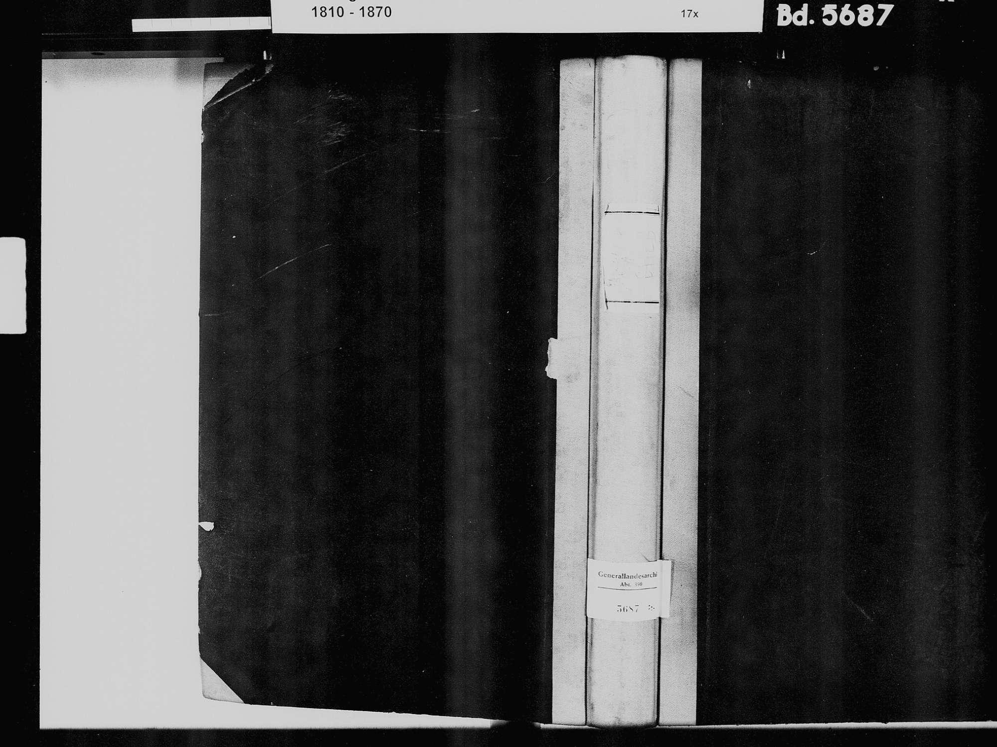 Dogern WT; Katholische Gemeinde: Heiratsbuch 1810-1869, Bild 2