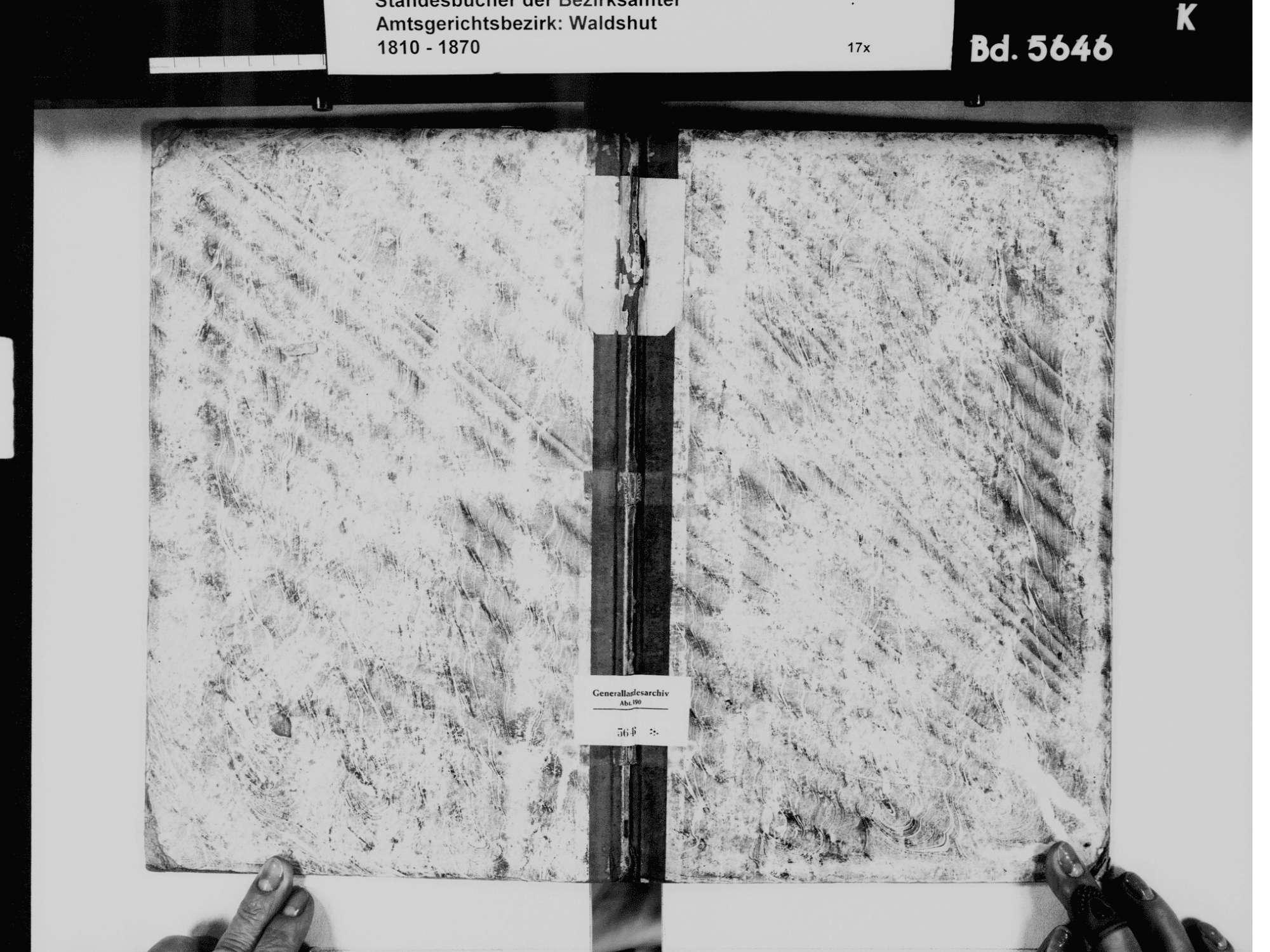 Berwangen, Dettighofen LÖ; Katholische Gemeinde: Geburtenbuch 1867-1869 Berwangen, Dettighofen LÖ; Katholische Gemeinde: Heiratsbuch 1867-1869 Berwangen, Dettighofen LÖ; Katholische Gemeinde: Sterbebuch 1867-1869, Bild 2