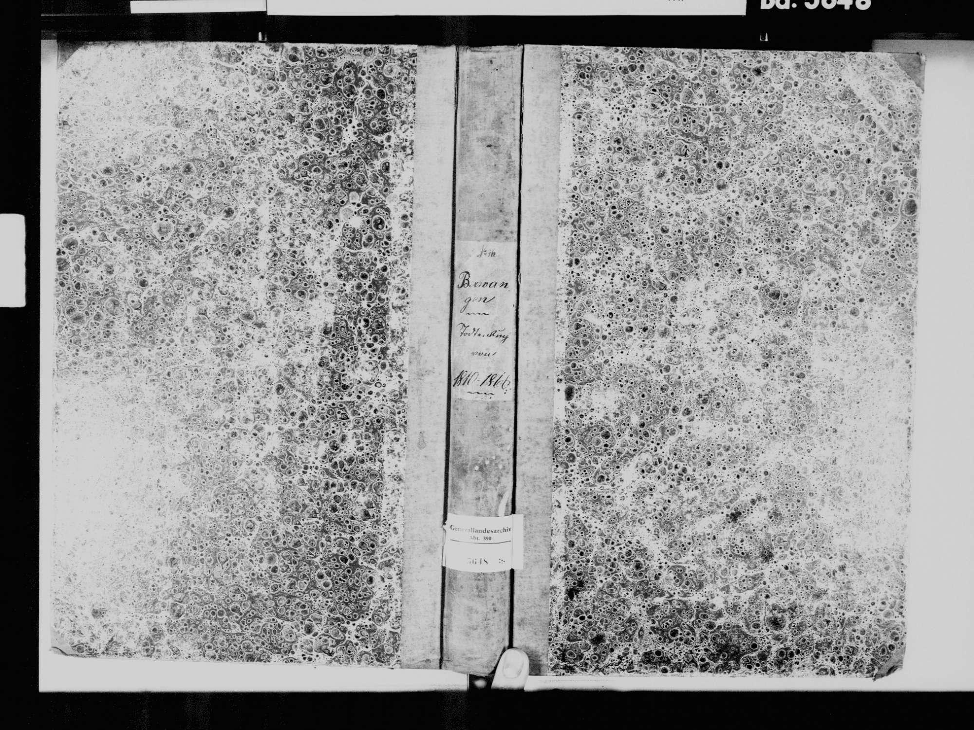 Berwangen, Dettighofen LÖ; Katholische Gemeinde: Sterbebuch 1810-1866, Bild 2