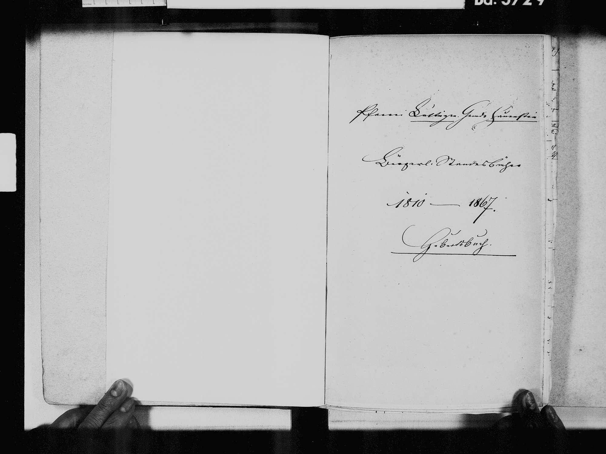 Hauenstein, Laufenburg (Baden) WT; Katholische Gemeinde: Geburtenbuch 1810-1869, Bild 3