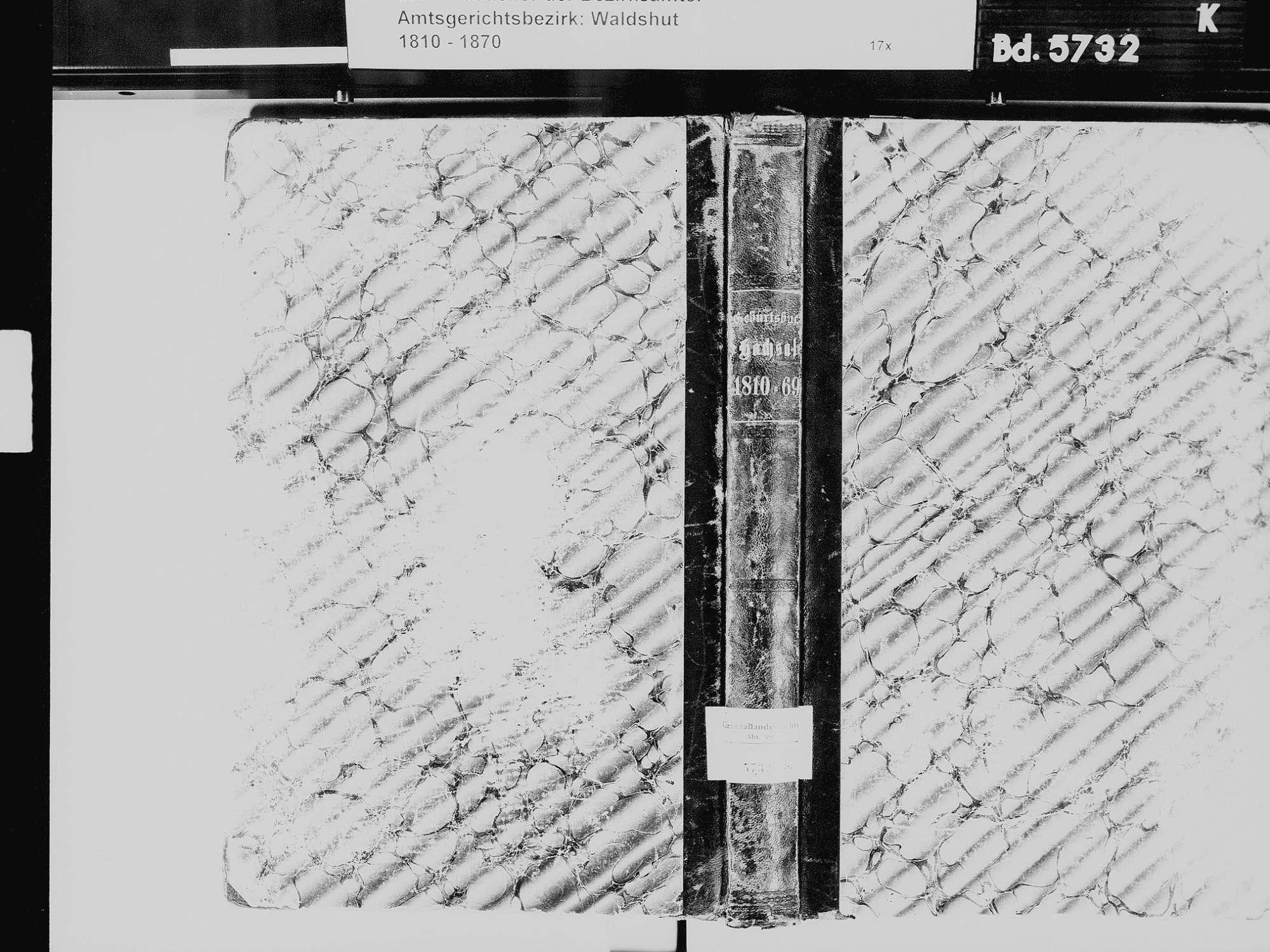 Hochsal, Laufenburg (Baden) WT; Katholische Gemeinde: Geburtenbuch 1810-1869, Bild 2