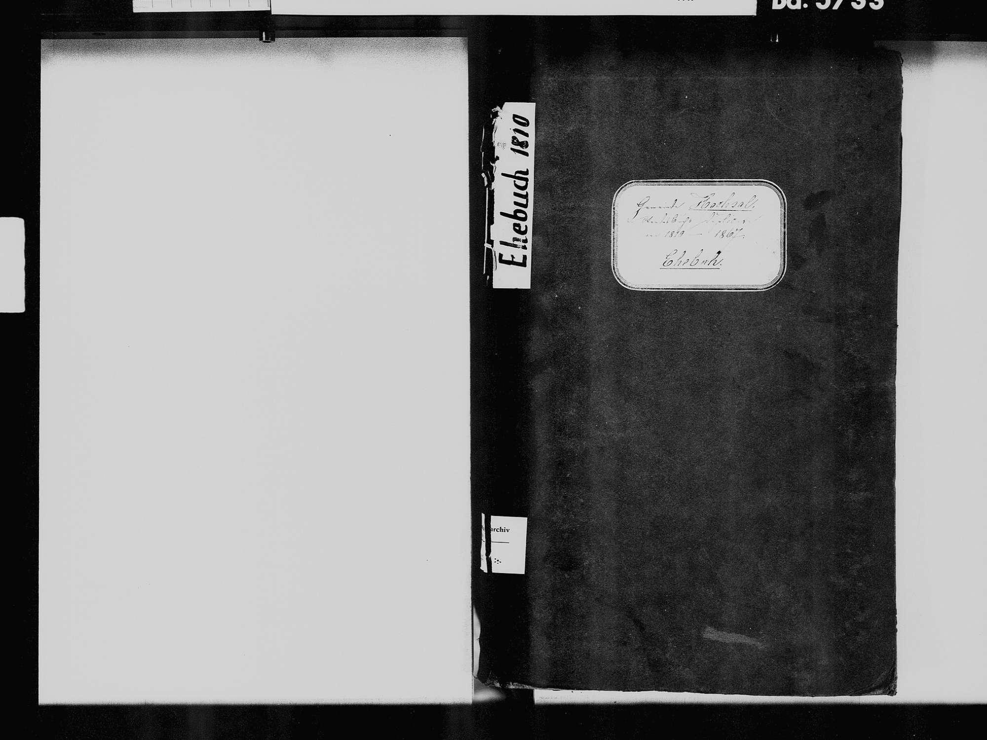 Hochsal, Laufenburg (Baden) WT; Katholische Gemeinde: Heiratsbuch 1810-1869 Hochsal, Laufenburg (Baden) WT; Katholische Gemeinde: Sterbebuch 1861, Bild 3