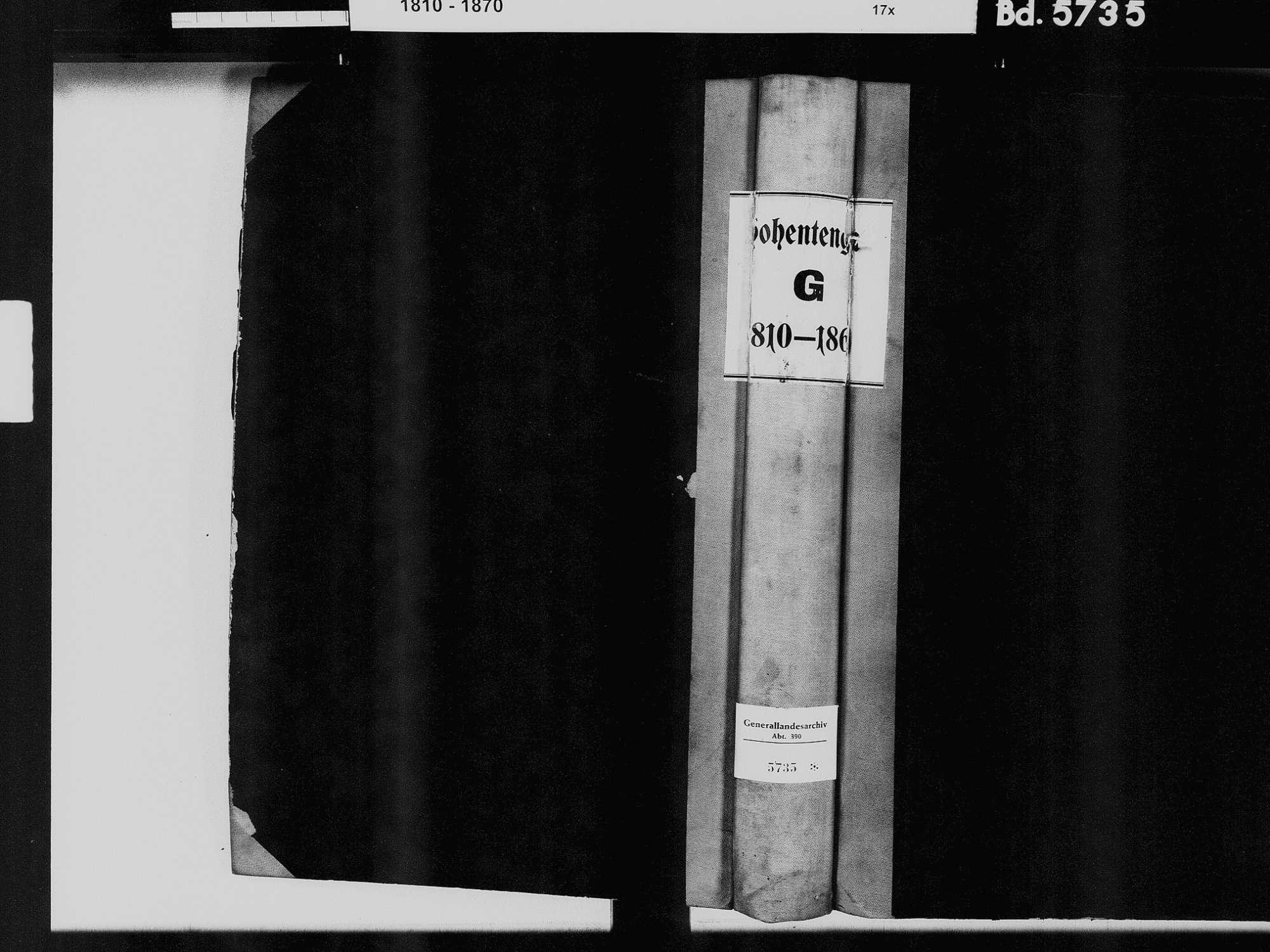 Hohentengen am Hochrhein WT; Katholische Gemeinde: Geburtenbuch 1810-1866 Hohentengen am Hochrhein WT; Katholische Gemeinde: Heiratsbuch 1823, 1829-1830, Bild 2