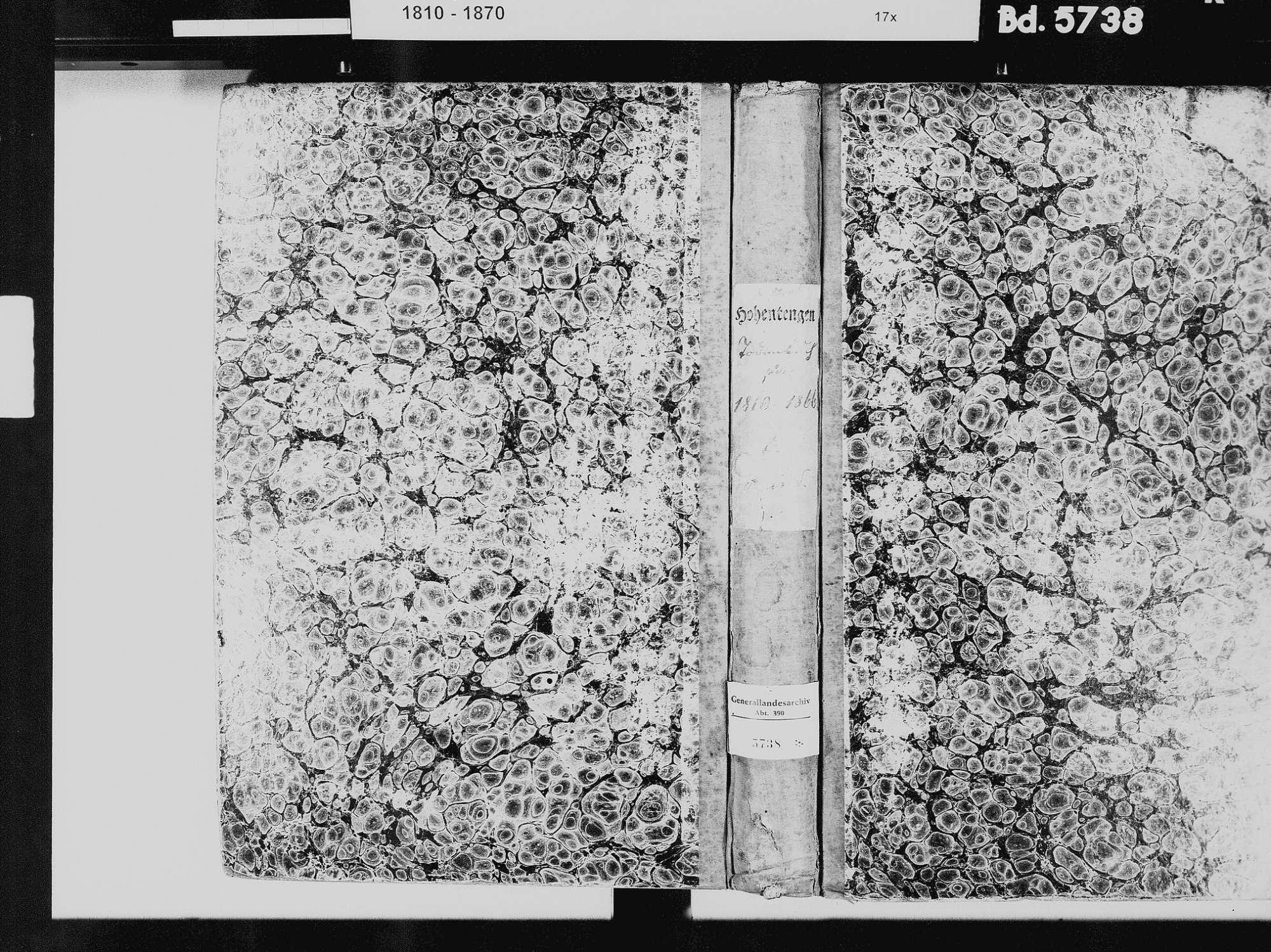 Hohentengen am Hochrhein WT; Katholische Gemeinde: Heiratsbuch 1834-1838-1839, 1847 Hohentengen am Hochrhein WT; Katholische Gemeinde: Sterbebuch 1810-1866, Bild 2