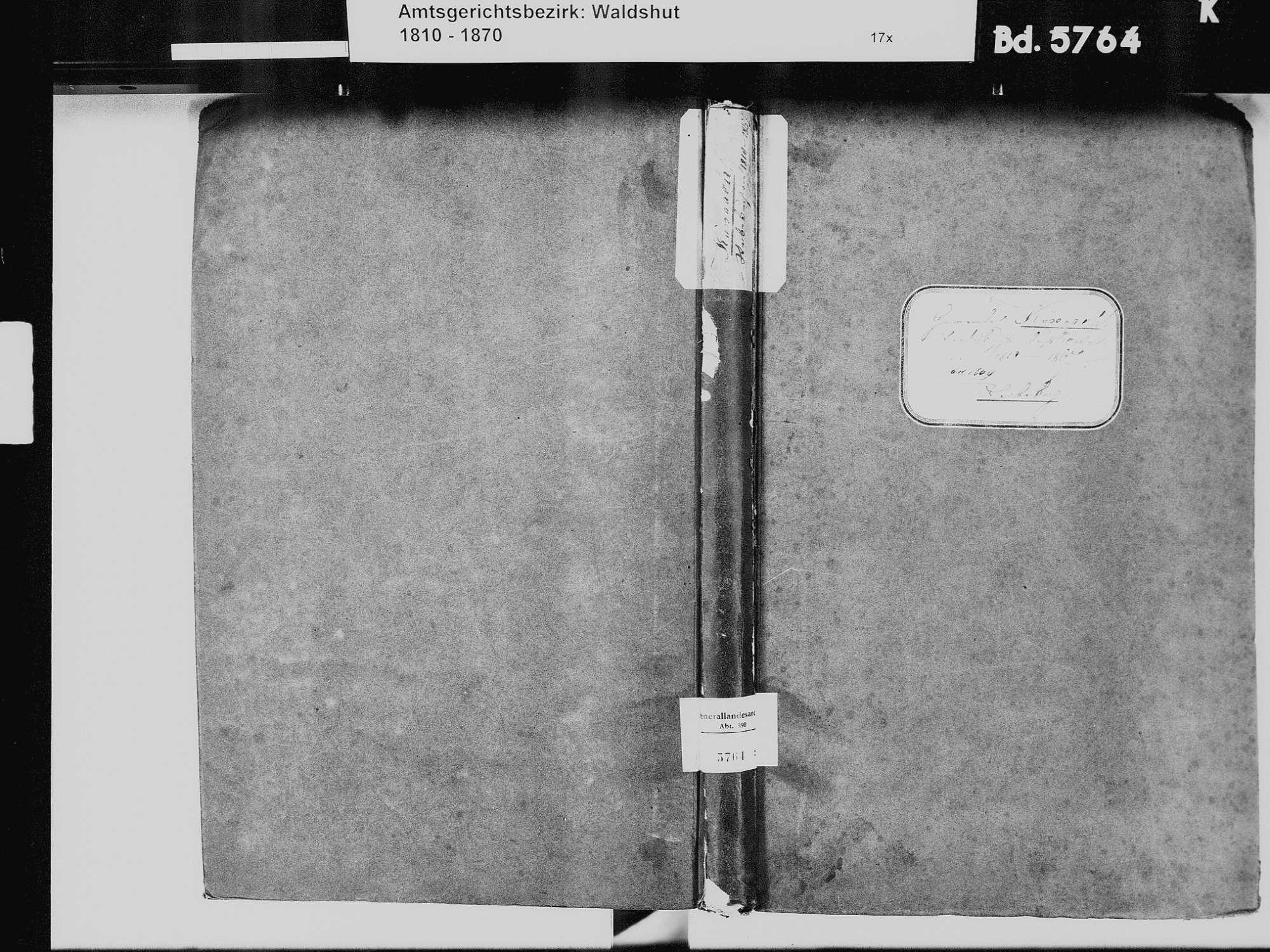 Küßnach, Küssaberg WT; Katholische Gemeinde: Heiratsbuch 1828-1837 Küßnach, Küssaberg WT; Katholische Gemeinde: Sterbebuch 1810-1869, Bild 2