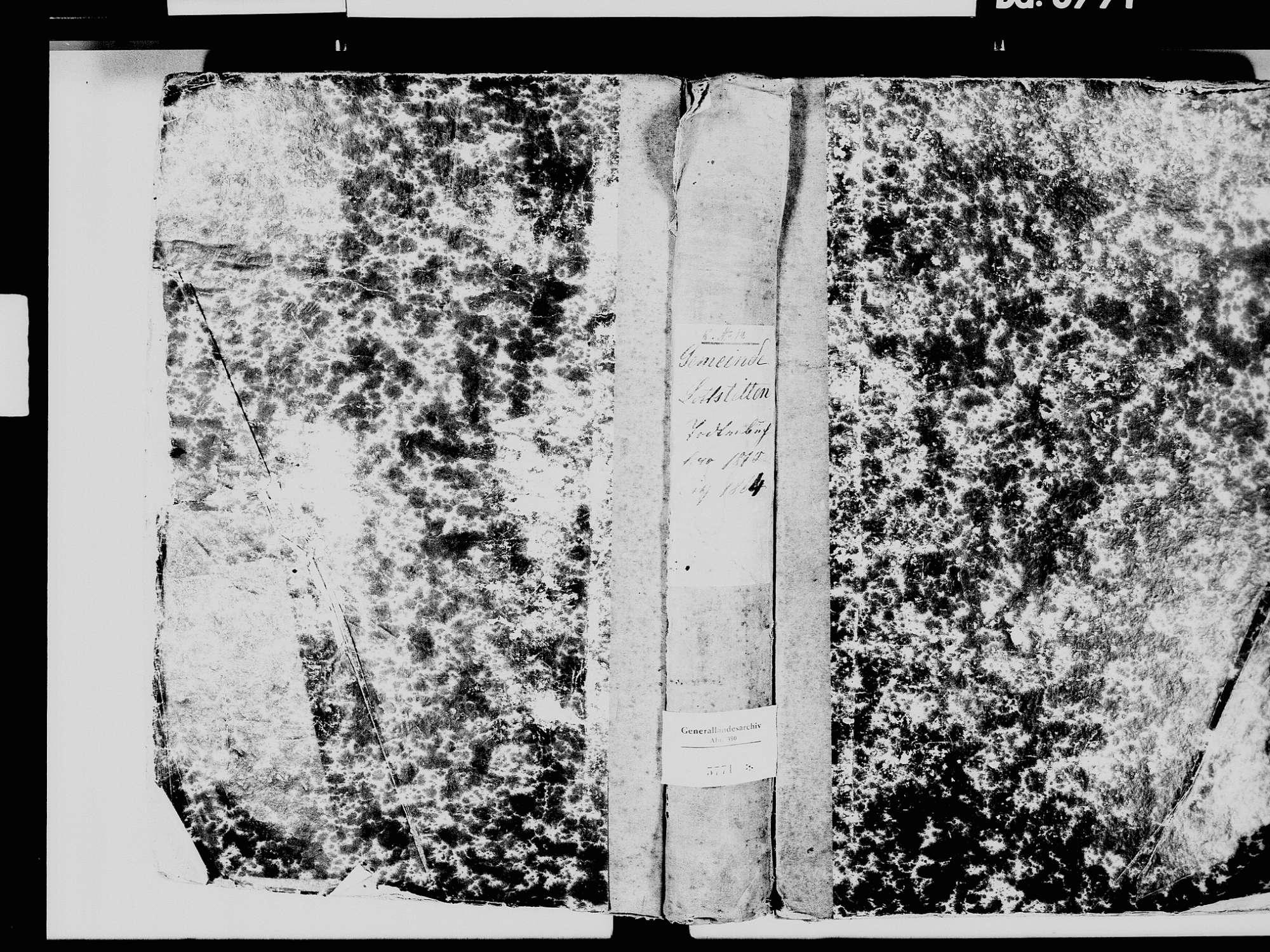 Lottstetten WT; Katholische Gemeinde: Geburtenbuch 1822, 1832 Lottstetten WT; Katholische Gemeinde: Sterbebuch 1810-1864, Bild 2