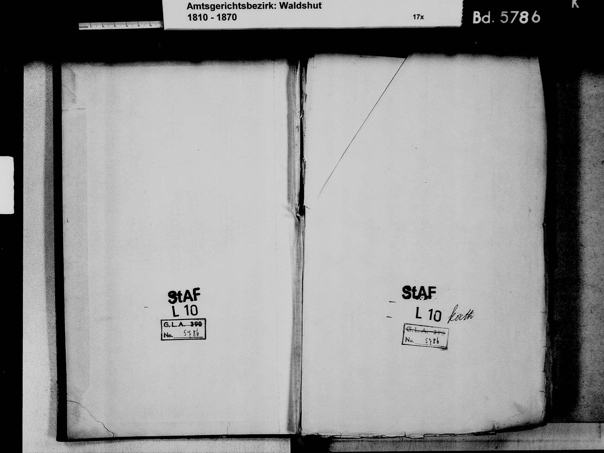 Oberlauchringen, Lauchringen WT; Katholische Gemeinde: Geburtenbuch 1810-1869 Oberlauchringen, Lauchringen WT; Katholische Gemeinde: Sterbebuch 1814, Bild 3