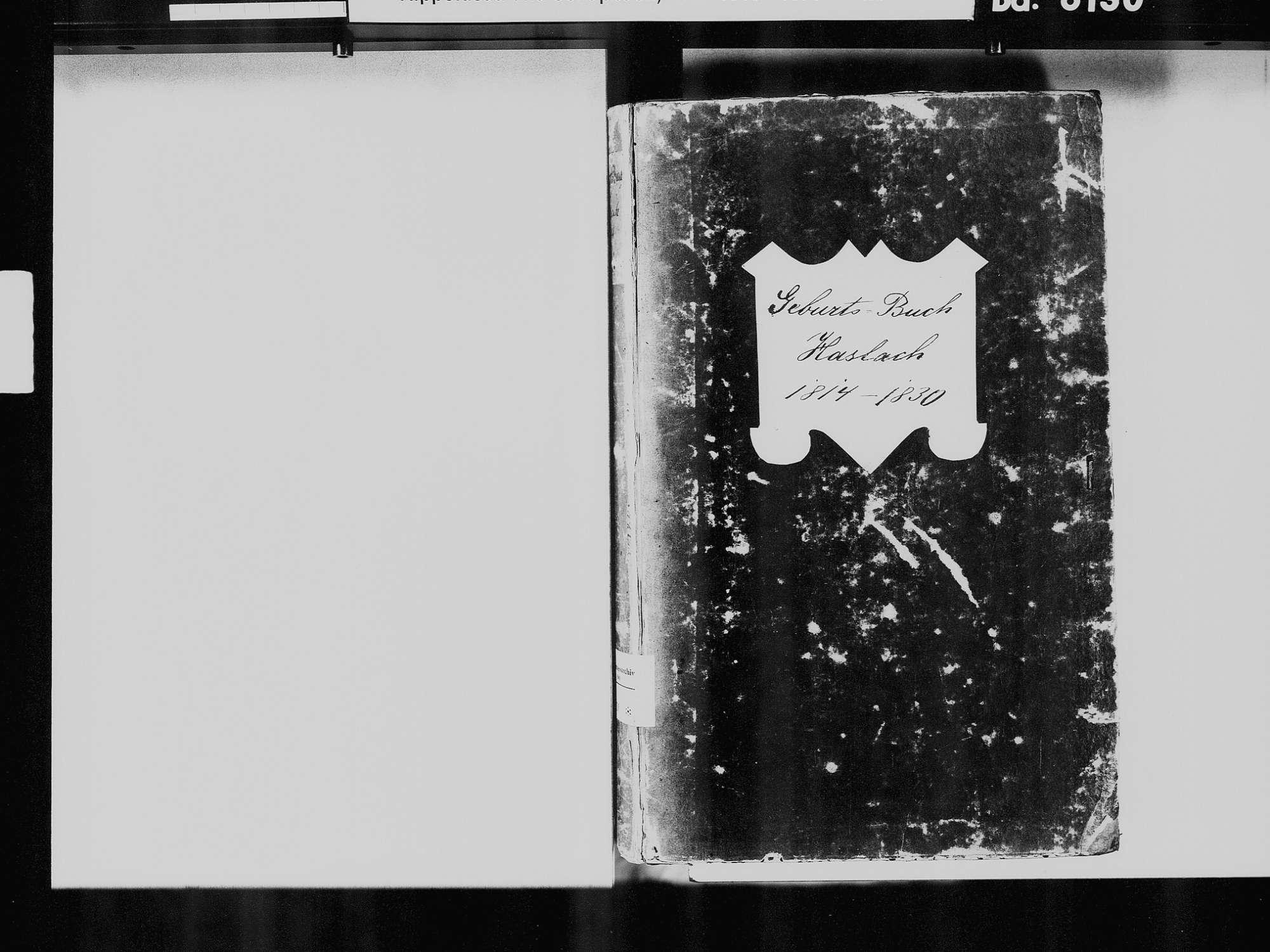 Haslach im Kinzigtal OG; Katholische Gemeinde: Geburtenbuch 1814-1830, Bild 3