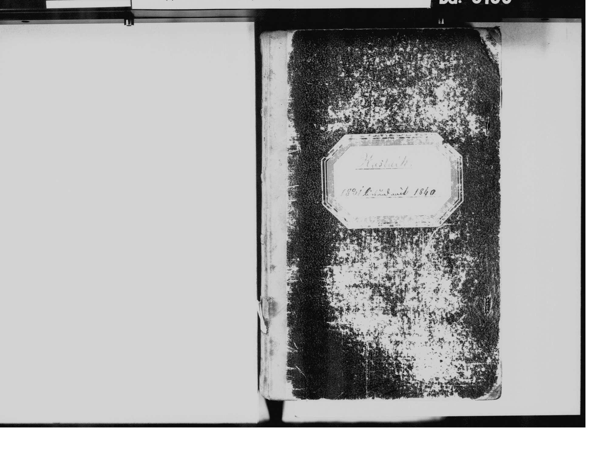 Haslach im Kinzigtal OG; Katholische Gemeinde: Standesbuch 1831-1840, Bild 3
