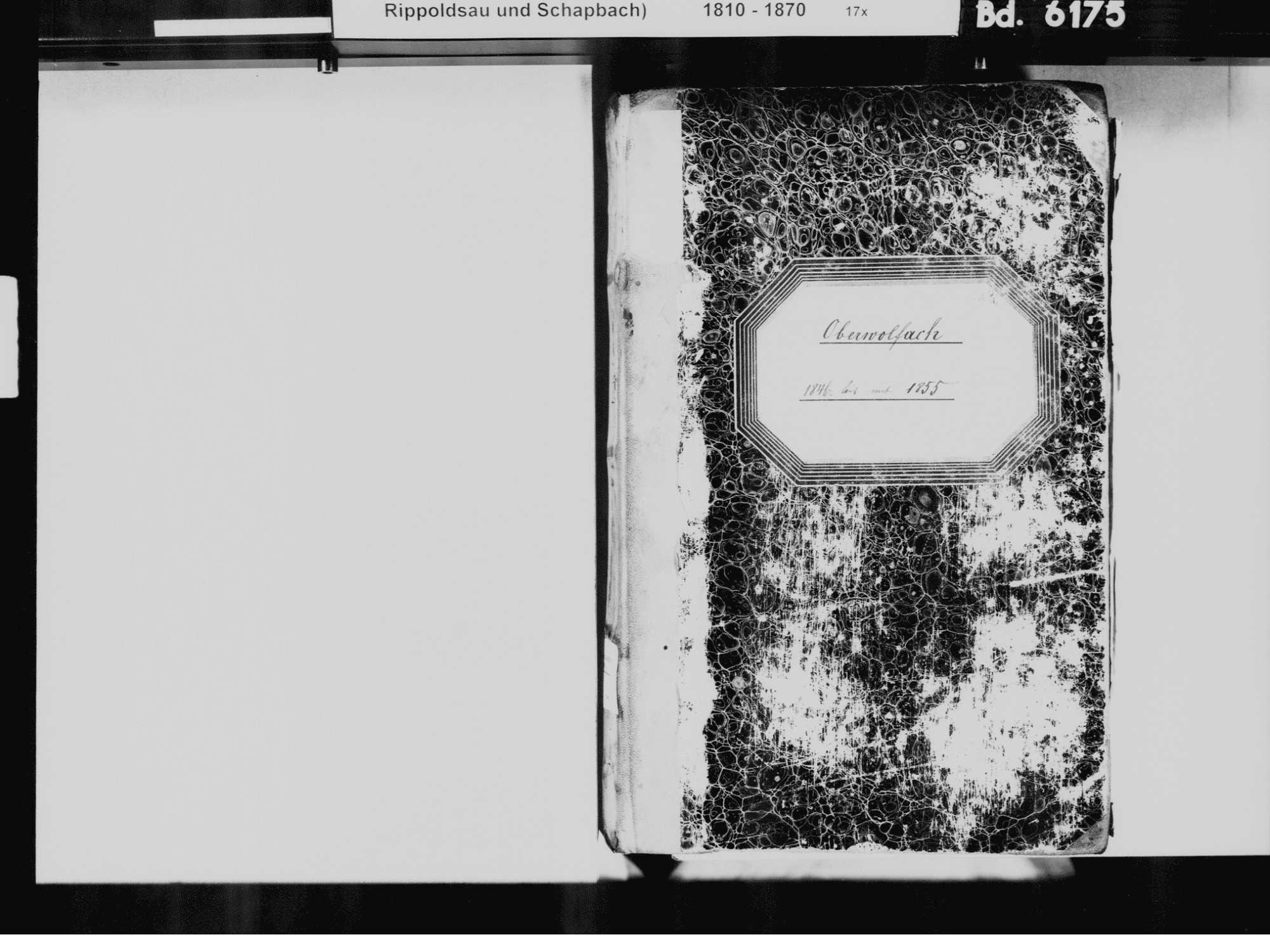 Oberwolfach OG; Katholische Gemeinde: Standesbuch 1846-1855, Bild 3