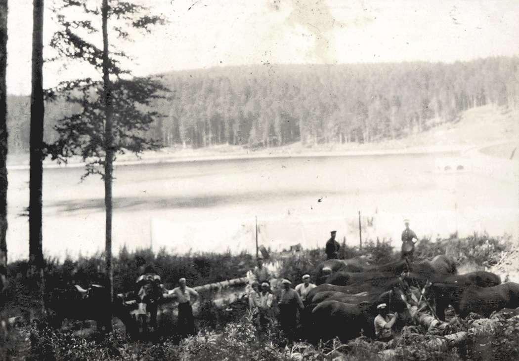 Hornisgrinde-Übung 1931 (am Stausee Schwarzenbach), Bild 1