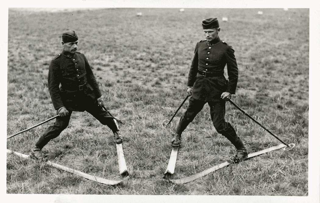 Trocken-Skiübungen (Der Schneepflug), Bild 1
