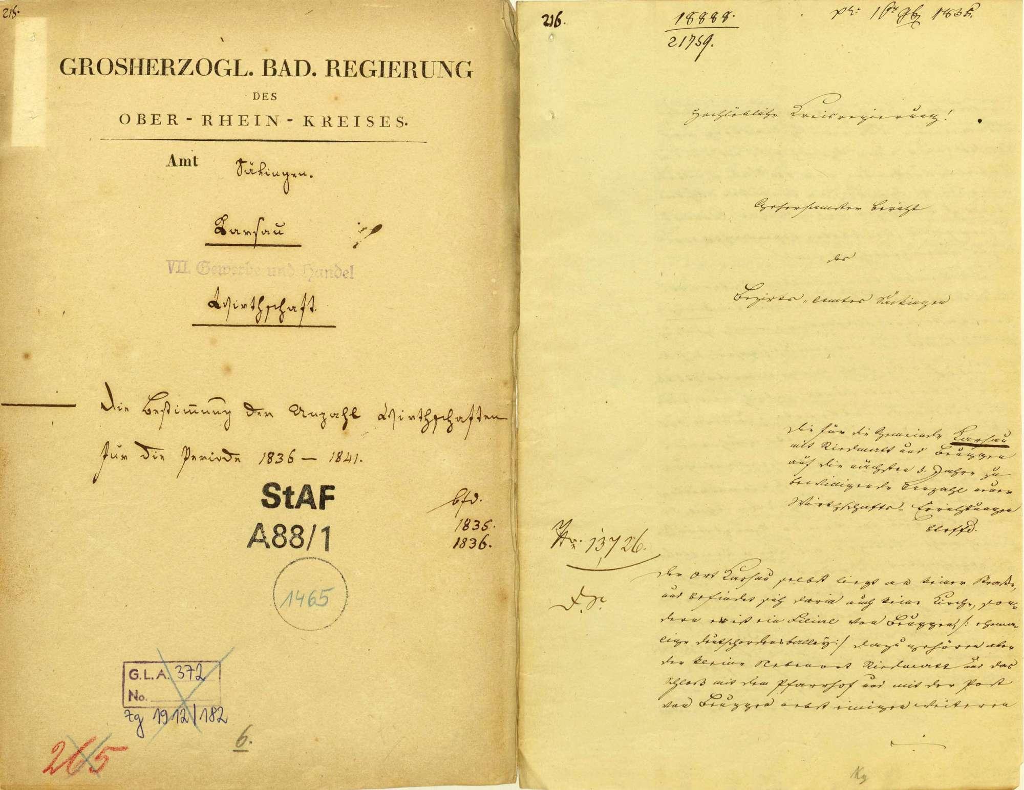 Regulierung der Wirtschaften in Karsau, Bild 1