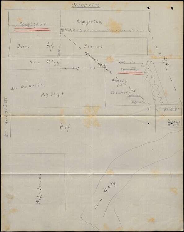 Gesuch des Fabrikanten Bernhard Himmelsbach in Bombach um Erlaubnis zur Errichtung eines feststehenden Dampfkessels, Bild 1
