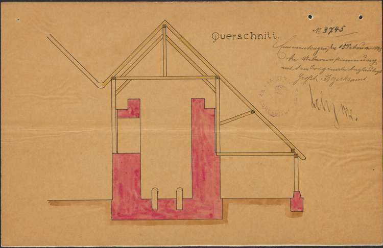 Errichtung eines Ziegelofens durch Bauunternehmer Georg Gauß, Bild 3