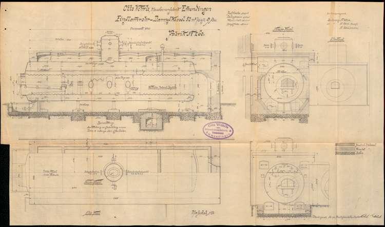 Gesuch der Maschinenfabrik Otto Wehrle um Erlaubnis zur Aufstellung eines Dampfkessels, Bild 3