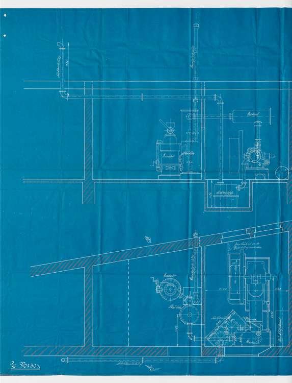 Gesuch des Fabrikanten Walter Henningerin Endingen um Genehmigung zur Errichtung eines Dampfkessels; Errichtung einer Sauggasanlage, Bild 2