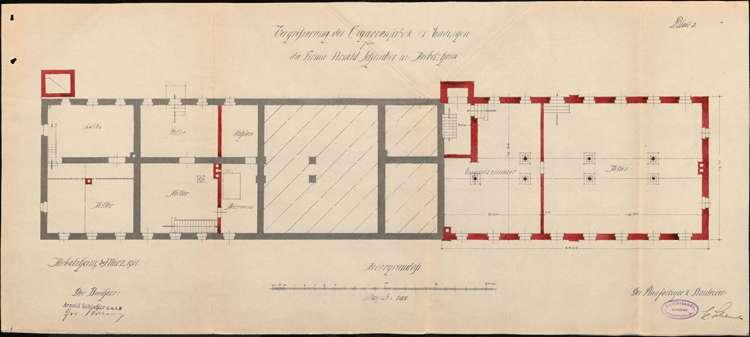 Errichtung einer Zigarrenfabrik in Endingen durch Arnold Schindler aus Herbolzheim und Vergrößerung des Betriebes, Bild 2