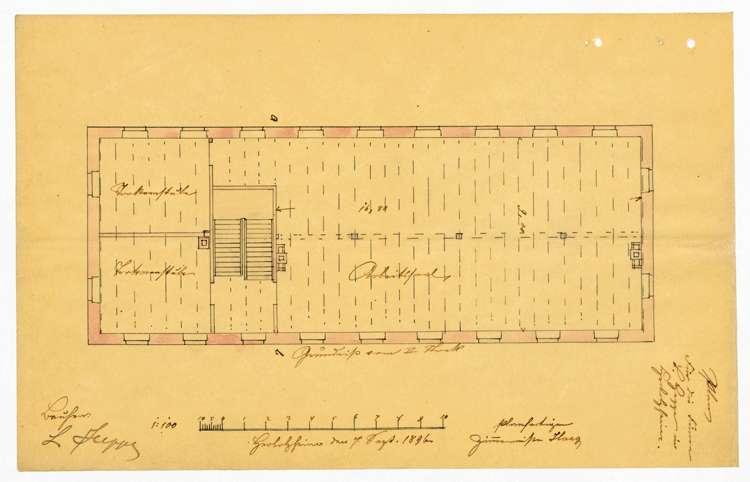 Bau und Betrieb einer Zigarrenfabrik in Heimbach durch die Firma L. Heppe von Herbolzheim, Bild 3