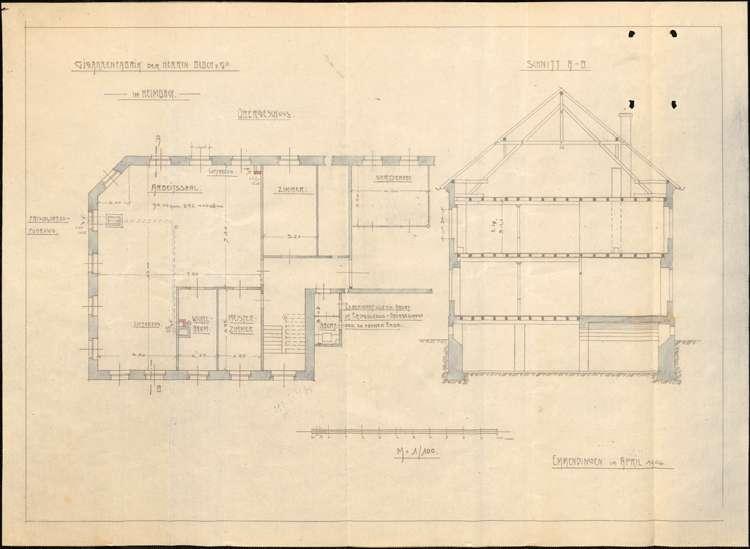 Bau und Betreib einer Zigarrenfabrik in Heimbach durch Max Bloch von Emmendingen, Bild 2