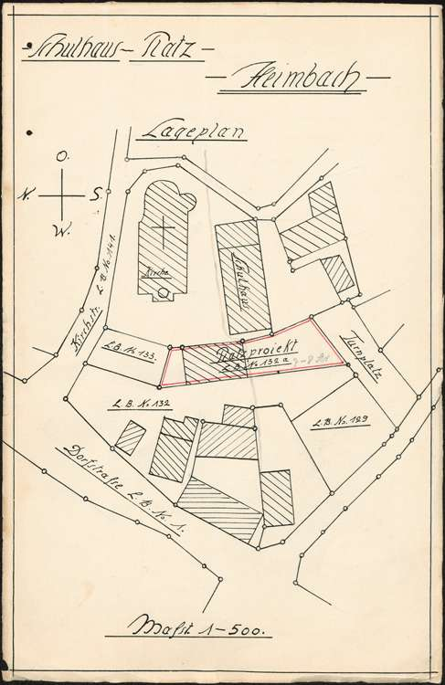 Schulhausneubau, Bild 1