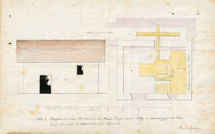Gesuch des Martin Burger von Katzenmoos um Genehmigung zur Erbauung einer Mühle, Bild 2