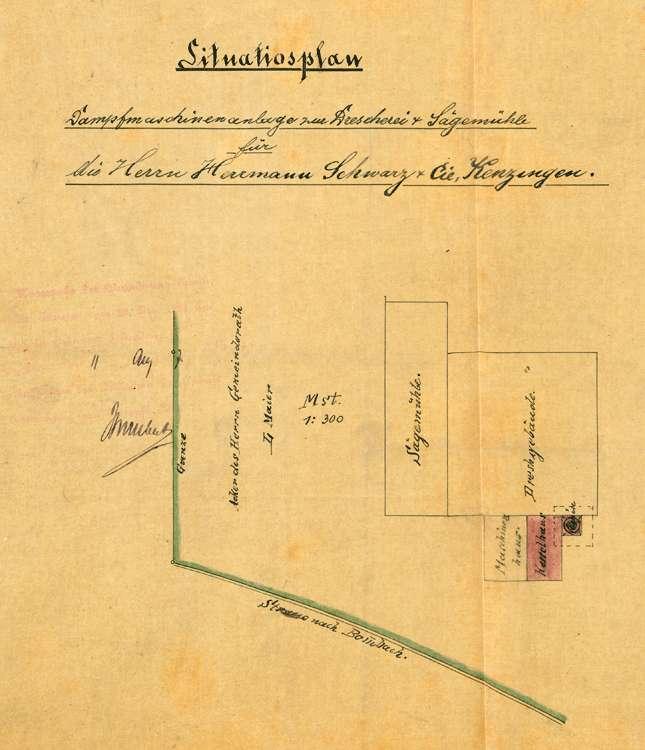 Aufstellung eines Dampfkessels und einer Dampfmaschine durch Hermann Schwarz, Bild 3