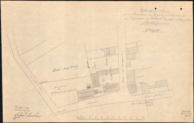 Gesuch des Zieglers Josef Brauch um Erlaubnis zur Errichtung einer Ziegelei und eines feststehenden Dampfkessels, Bild 2