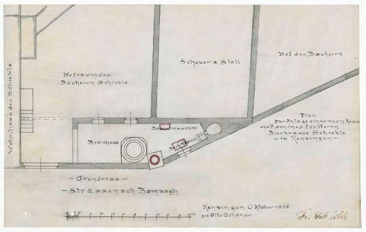 Gesuch des Bierbrauers Friedrich Schieble um Erlaubnis zur Erstellung eines Dampfkessels, Bild 2
