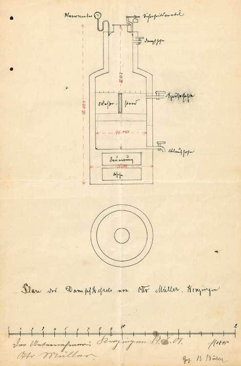 Anlage eines Dampfkessels durch Otto Müller, Bild 2