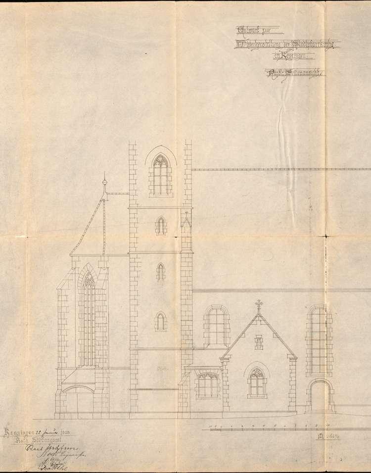 Restauration der katholischen Stadtpfarrkirche, Bild 2