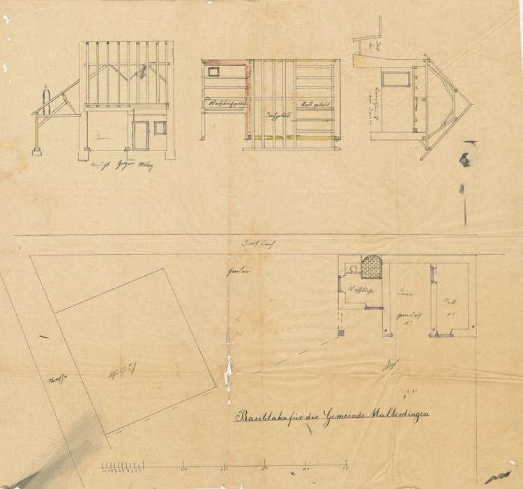 Erbauung eines zweiten Schulhauses in Malterdingen, Bild 1