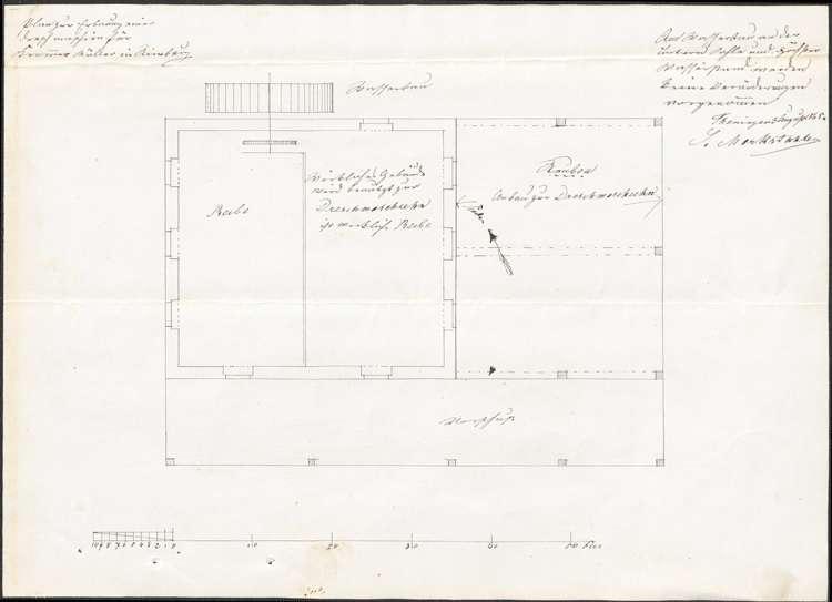 Aufstellung einer Dreschmaschine durch Johann Kromer, Bild 3