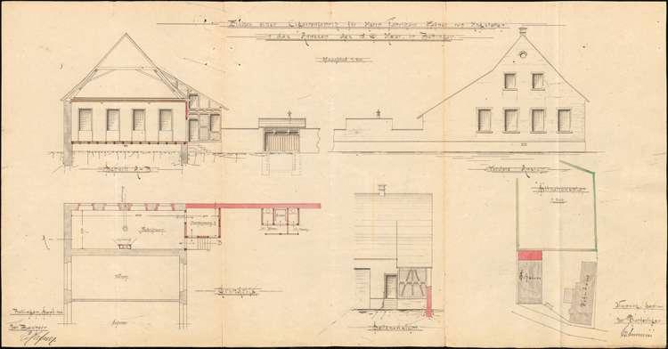 Errichtung einer Zigarrenfabrik in Bottingen als Filiale des Stammwerks in Hugstetten durch E. Hafner, Bild 3