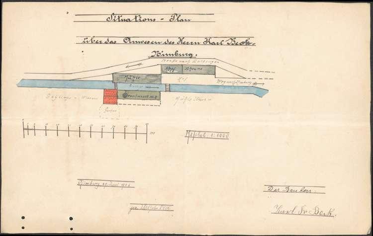 Errichtung einer Ziegelpresse, Bild 2