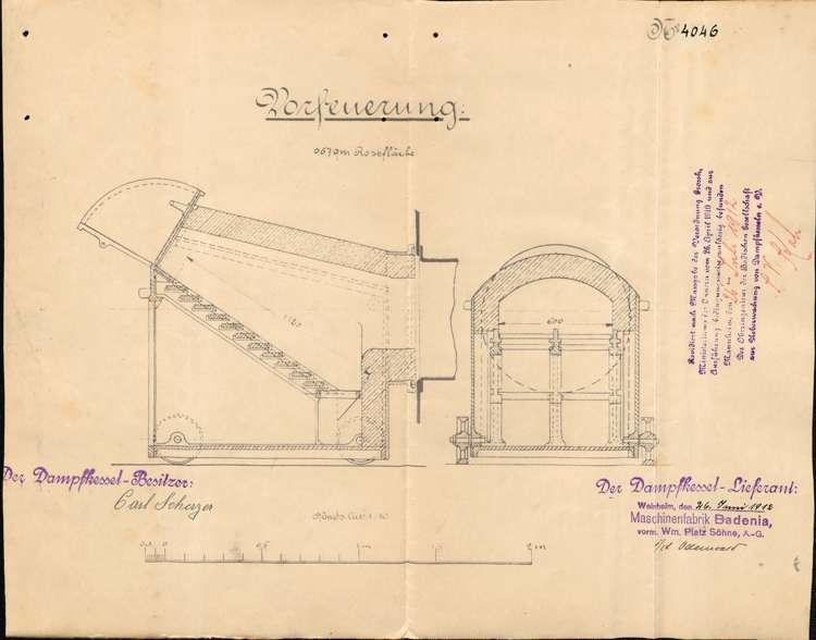 Anlegung eines Dampfkessels durch Karl Scherzer, Bild 2