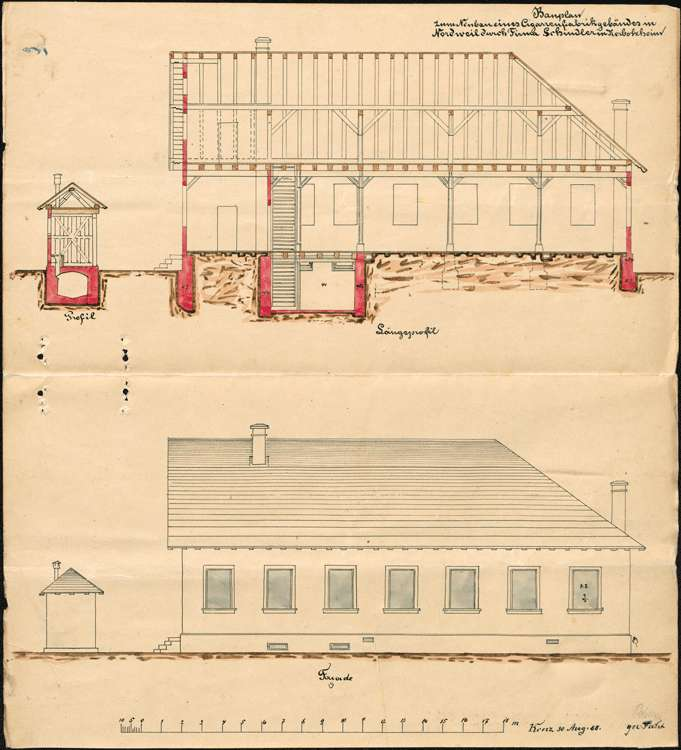 Bau und Betrieb einer Zigarrenfabrik in Nordweil durch die Firma Arnold Schindler in Herbolzheim, Bild 3