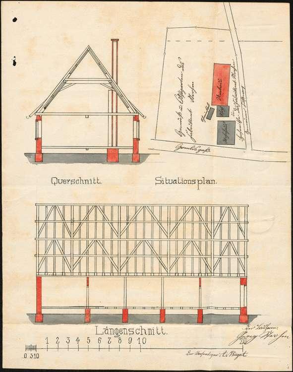 Errichtung und Betrieb einer Zigarrenfabrik in Vörstetten durch Georg Strohm, Denzlingen, Bild 3