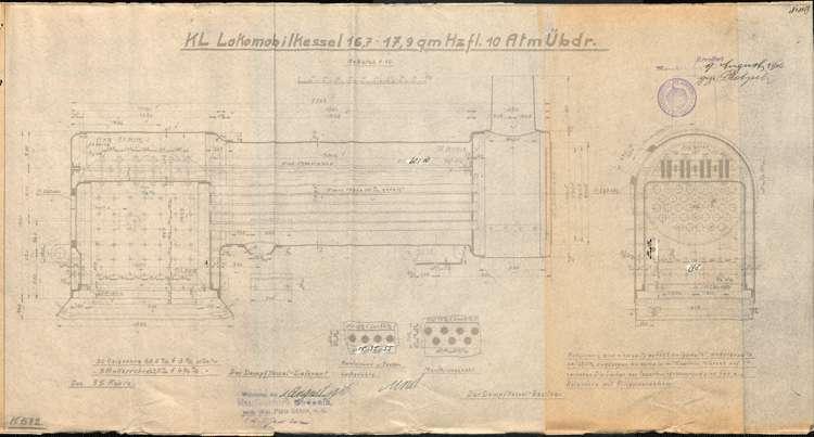 Genehmigung zur Aufstellung eines beweglichen Dampfkessels für Adolf Reichenbach in Vörstetten, Bild 1