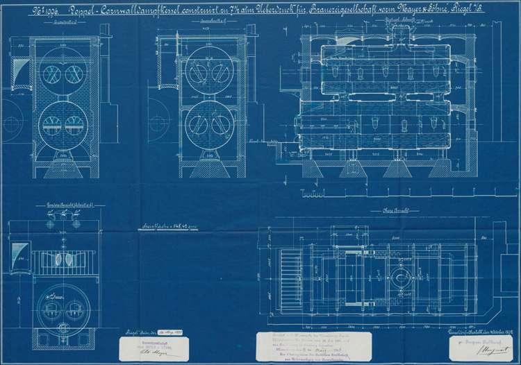 Dampfkesselanlage der Bierbrauerei Wilhelm Mayer, später Mayer & Söhne, Bild 1