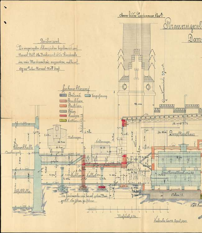 Dampfkesselanlage der Bierbrauerei Wilhelm Mayer, später Mayer & Söhne, Bild 2